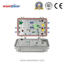 Factory Supply Wholesale Outdoor FTTH Products 4 Output Ports Optical 수신기 CATV