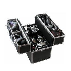 ABS duro cámara resistente al agua el caso de Canon negro de aluminio Caja de herramientas