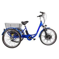 elektrisches Fahrrad des Rad-48V500W 3 mit 24 '' Rädern für Erwachsenen