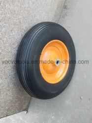 4.00-8 외바퀴 손수레 정원 손수레를 위한 단단한 고무 바퀴