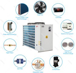 Fabricant de pompe à chaleur air multifonctionnelle Source chauffe-eau pour le chauffage et refroidissement de gros