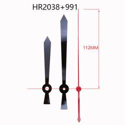 Hr2038 112 mm noir les mains de l'horloge