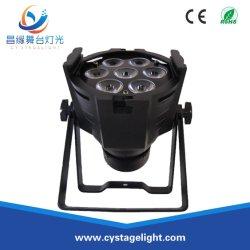 7pcs en el interior efecto etapa LED 3W/8W/10W de iluminación LED PAR
