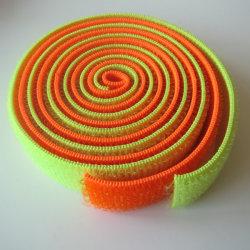 100 % nylon coloré boucle élastique (produit fini le traitement de bande disponible)