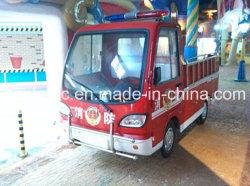 中国のトラック、おもちゃ、子供の演劇の行為、普通消防車、電気自動車