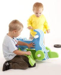 Kein Schaden Handed Cartoon TPE EVA Puzzle Spielzeug für Kind