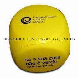 Dispositivo caldo di figura dei dadi del giocattolo del mitigatore di sforzo della gomma piuma dell'unità di elaborazione di vendita