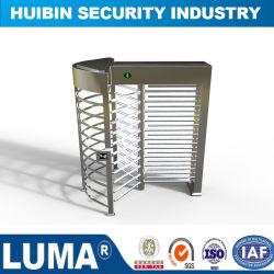 La Chine fabriqués pleine hauteur de barrière intérieure et extérieure de porte tourniquet