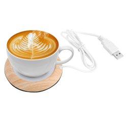 Benutzerdefinierte tragbare Desktop elektrisch beheizte Kaffee Tee USB Tasse wärmer Werbegeschenk