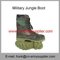Bon marché de gros de la Chine de l'armée de la formation de la Police militaire de camouflage toile Boot