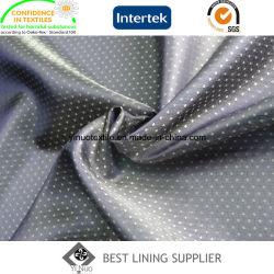 Tessuto 100% del rivestimento del vestito degli uomini della ratiera di tono del poliestere due