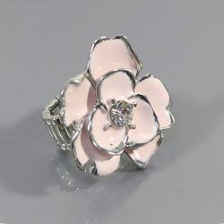 La joyería de moda Anillo de estiramiento de forma de flor