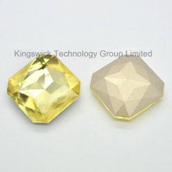 Alta qualità Square Glass Crystal Stones per Jewelry