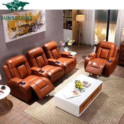 2021 تصميم حديثة سعر الجملة إيطاليا الحديثة الجلد / قماش السرير أثاث منزلى مسرح زاوية الأريكة