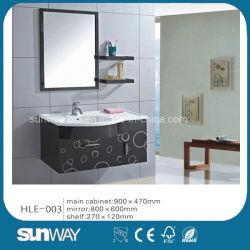 Модный дизайн стены повесил трубку из нержавеющей стали, туалетный столик с зеркалом