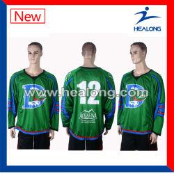 Healong Custom Sportswear Oem Dye Sublimation Ice Hockey Jersey