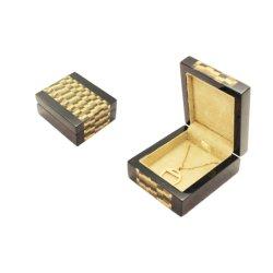 تصميم جديد فاخر صندوق مجوهرات خشبي مخصص بالجملة