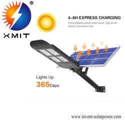 Xmit IP65 de haute qualité de la rue de l'énergie hybride lumière LED solaire sans fil du capteur de mouvement de Lumière de la rue