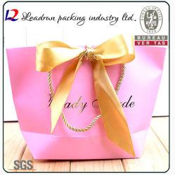 Support de papier d'impression de papier kraft Sac shopping d'emballage pour les cosmétiques chiffon Bijoux Chaussures Suit-Dress cadeaux Produits de santé sous-vêtements (F60)
