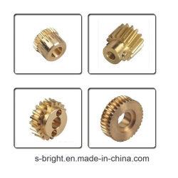 고정밀 CNC 맞춤형 기계 가공 크레인 브론즈 나선형 베벨 디스트리뷰터 구동 기어