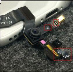câble souple de la face avant l'appareil photo pour iPhone 5