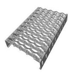 Anti Skid Pasarela serrada del soporte de agarre de rejilla de seguridad plancha perforada