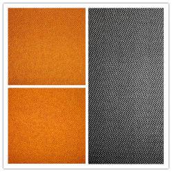 Stof van de Perzik Dyd van de Keperstof van de wol de Nylon Duidelijke