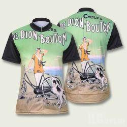 Dames′ Cycling Jerseys, ademende en antibacteriële functies