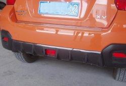 Diffuseur arrière en fibre de carbone pour Subaru xv