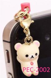 Tappo del telefono mobile di Rilakkuma dell'orso bianco Jack