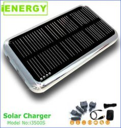 A energia solar carregador de telemóvel I3500