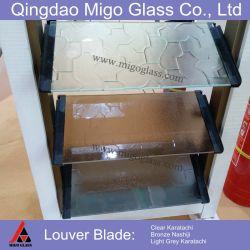 Rimuovere i ciechi di vetro tinto e modellato, l'otturatore e le tonalità, vetro di finestra della feritoia