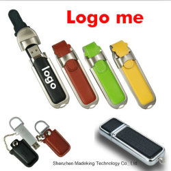 Il migliore flash di vendita del USB determina gli azionamenti istantanei di cuoio della penna del USB