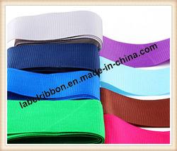 Ruban de Satin Grossgrain couleur pour l'Emballage de cadeau (SJ100)