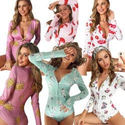 Onesie sexy mujer dormir dormir Pijama Onesies Custom
