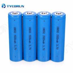 Tycorun 대용량 충전식 리튬 이온 배터리 18650 리튬 이온 배터리 셀 3.7V 리튬 이온 18650 배터리