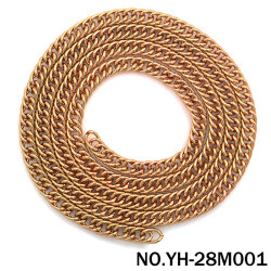 L'usine OEM sac de matériel de fer de chaînes en métal pour accessoires de sac à main