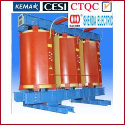 20년 간의 중국 전문 변압기 제조업체 Cesi KEMA CSA CE IEC IEEE 35kv 315kVA Nltc SC(B) 유형 주조 레진 건식 변압기