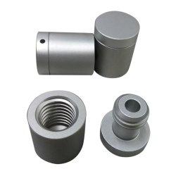 Maquinado CNC de alta calidad de la placa de aluminio de las piezas del cubo de bicicletas
