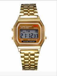 Caja de aleación de moda ver reloj de cuarzo Relojes de Pulsera baratos (DC-463)