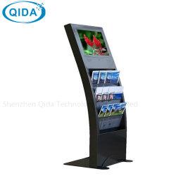 Plancher de 17 pouces LCD Affichage Midea permanent joueur avec le titulaire de la brochure