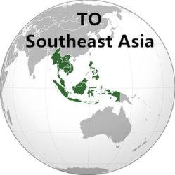 De verschepende Dienst van Guangzhou aan Zuidoost-Azië door Overzeese Te verschepen