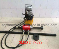 Mantenimiento de la máquina excavadora de cadenas portátil Manga, la herramienta de montaje para la excavadora de cadenas de prensa