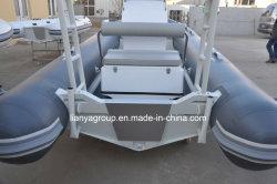 Liya 2.7-4.8m nervure d'aluminium aluminium rigide Hypalon bateau gonflable