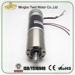 Faible bruit 56mm avec encodeur du moteur à engrenages et le frein