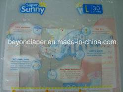 Populäre SuperSuny Baby-Windel-Produkte im ganz vorbei Markt