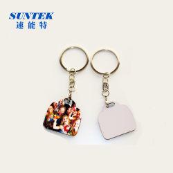 中国、サブリミション印刷用の MDF キーチェーン / キーリングを空白