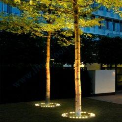 خارجيّة حديقة زخرفة [لد] منظر طبيعيّ يشعل [ككنوت تر] محترفة زرقاء يشعل [بلم تر]