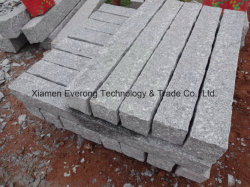 Usine de gros de la Chine de la route de la palissade de granit naturel avec surface rugueuse choisi
