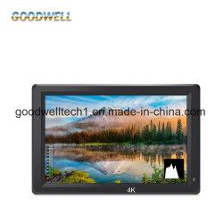 ضبط بؤري صرير شاشة TFT LCD محمولة بدقة 4K 7 بوصات مع مدخل HDMI والمخرجات
